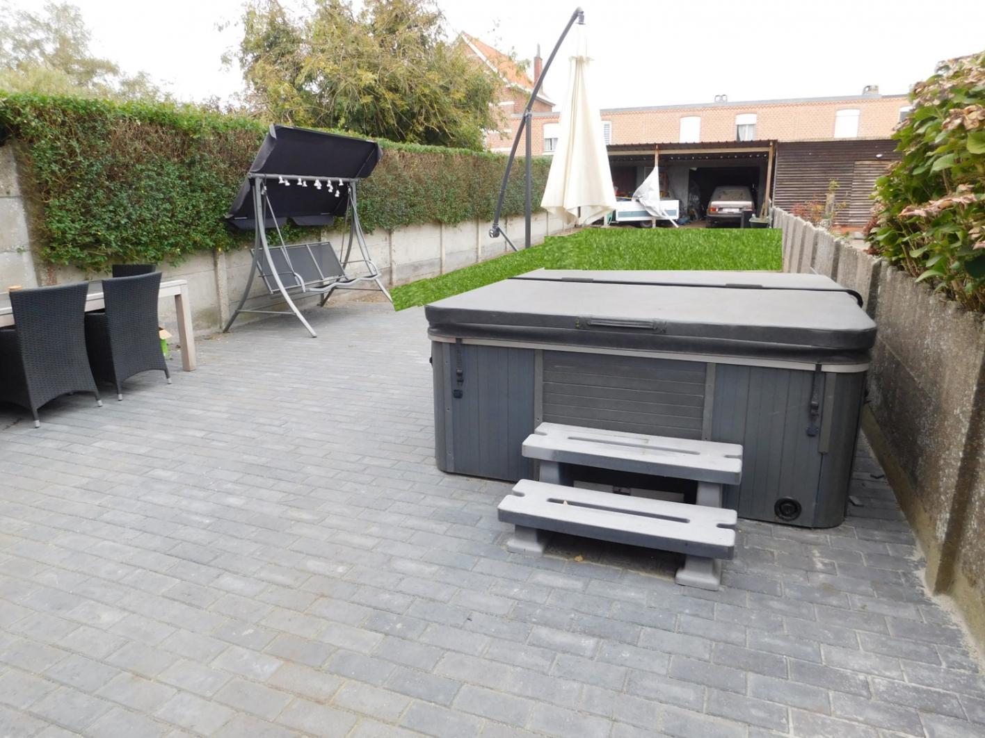 Dupont vastgoed herentals gelijkvloers app volledig for Appartement met tuin te koop